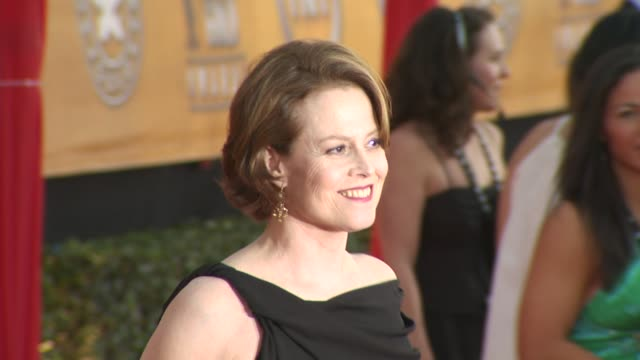 sigourney weaver at the 16th annual screen actors guild awards - arrivals at los angeles ca. - sigourney weaver stock videos & royalty-free footage