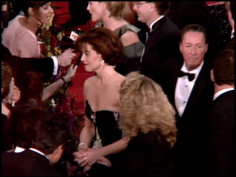 sigourney weaver at the 1995 academy awards arrivals at the shrine auditorium in los angeles, california on march 27, 1995. - 67th annual academy awards stock videos & royalty-free footage