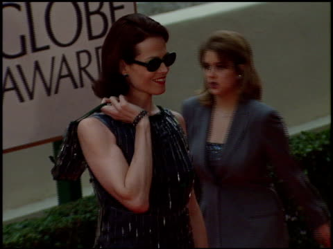 Sigourney Weaver at the 1998 Golden Globe Awards at the Beverly Hilton in Beverly Hills California on January 18 1998
