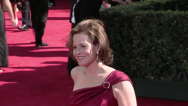 Sigourney Weaver at the 61st Annual Primetime Emmy Awards Arrivals Part 3 at Los Angeles CA