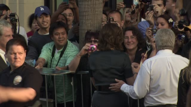 sigourney weaver at the 'abduction' premiere at hollywood ca - sigourney weaver stock videos & royalty-free footage