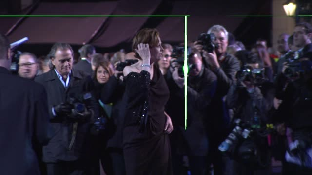 sigourney weaver at the avatar world premiere at london england. - sigourney weaver stock videos & royalty-free footage
