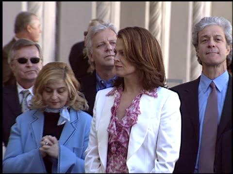 stockvideo's en b-roll-footage met sigourney weaver at the dediction of kevin kline's walk of fame star at the hollywood walk of fame in hollywood, california on december 3, 2004. - sigourney weaver