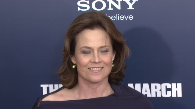 Sigourney Weaver at the 'The Ides Of March' New York Premiere Red Carpet at New York NY