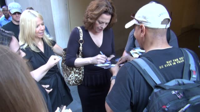 sigourney weaver at the 'today' show studio sigourney weaver at the 'today' show studio on july 10 2012 in new york new york - sigourney weaver stock videos & royalty-free footage