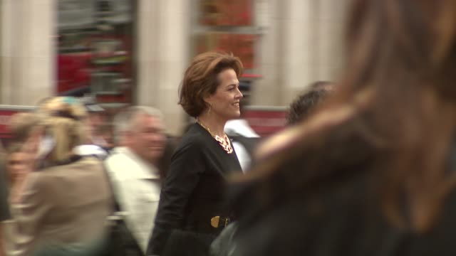 Sigourney Weaver at the WallE UK Premiere at London London