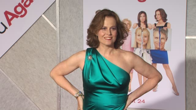 Sigourney Weaver at the 'You Again' Premiere at Hollywood CA
