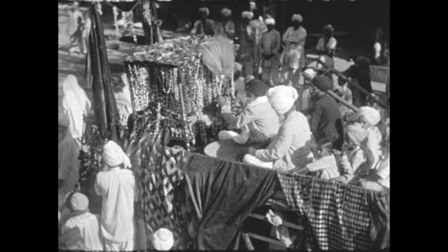 sikh procession to commemorate the death of the 5th guru arjan dev ji - colonial stock videos & royalty-free footage