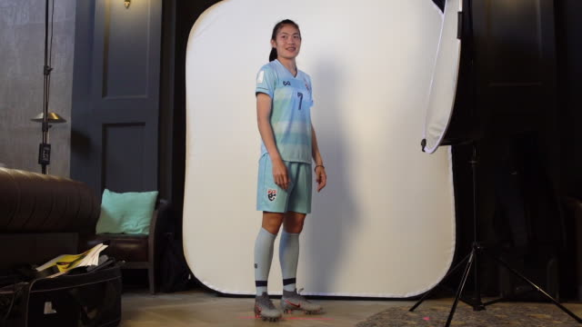 Silawan Intamee at FIFA Women's World Cup France 2019 Team Portrait Session on June 08 2019 in Reims