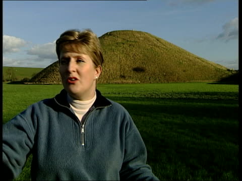 new research amanda chadburn interview silbury hill track standing stone monuments silbury hill - prehistoric art stock videos & royalty-free footage