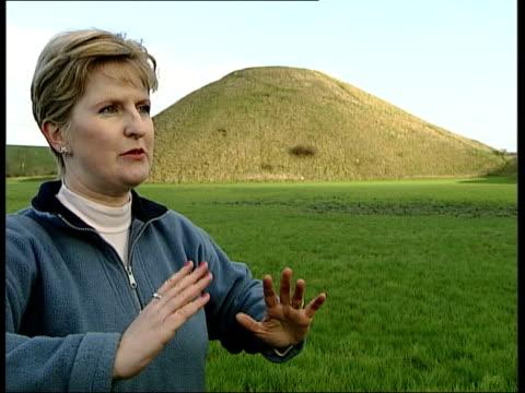 silbury hill prehistoric monument new research amanda chadburn interview - prehistoric art stock videos & royalty-free footage
