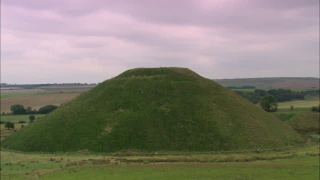 silbury hill - stonehenge stock videos and b-roll footage