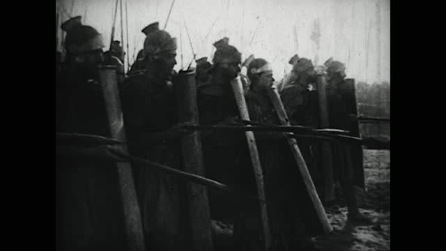 silent film of the punic wars between rome and carthage. - 1930 stock videos & royalty-free footage