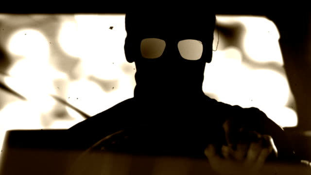 silent killer is driving a car. - organized crime stock videos and b-roll footage