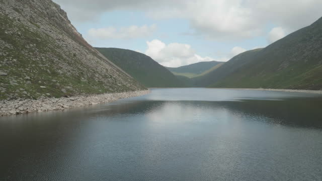 silent valley mountain park,northern ireland - reservoir stock videos and b-roll footage