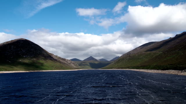 silent valley reservoir in timelapse - reservoir stock videos and b-roll footage