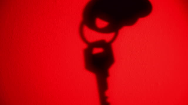 silhouette of a hand taking a key. - hanging up stock videos & royalty-free footage