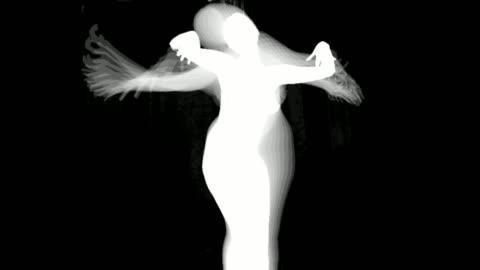 siluett av dansande kvinnor - silhuett bildbanksvideor och videomaterial från bakom kulisserna