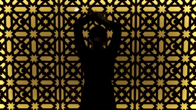 m/s silhouette of flamenco dancer (woman) - western european culture stock videos & royalty-free footage