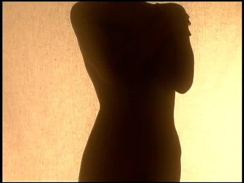 silhouette of person - waist stock videos & royalty-free footage