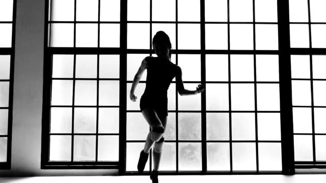 silhouette of rehearsal dancing - rehearsal stock videos & royalty-free footage