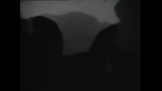 silhouettes of couples slow dancing - 1961 stock videos & royalty-free footage