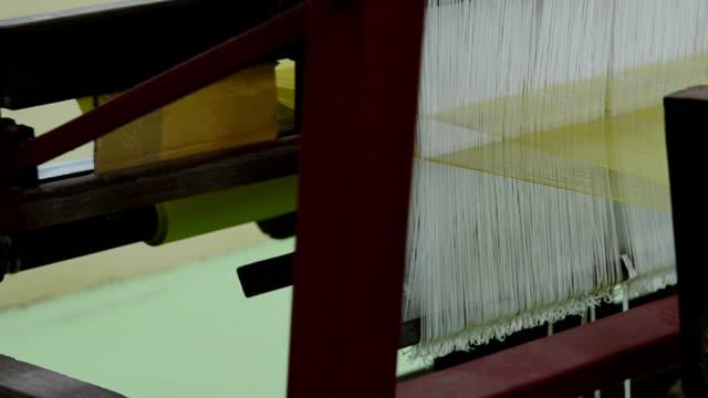 Silk on the loom