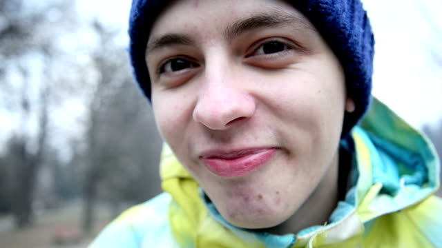 silly faces - young men stock videos & royalty-free footage