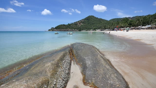 silver beach koh samui - foothills stock videos & royalty-free footage
