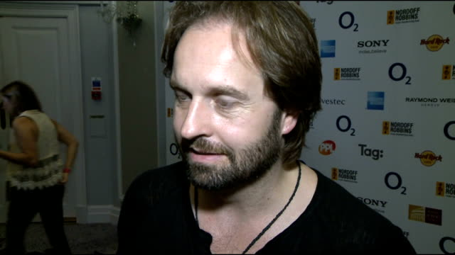 celebrity interviews GVs Alfie Boe Alfie Boe interview SOT on presenting the award he won last year it's an honour to pass on an award he's won...