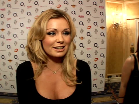 Silver Clef Awards luncheon 2007 Katherine Jenkins interview SOT On the event presenting the classical award to Andrea Bocelli / Not going to the...