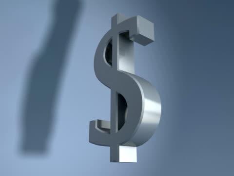 CGI Silver Dollar symbol spinning on blue background