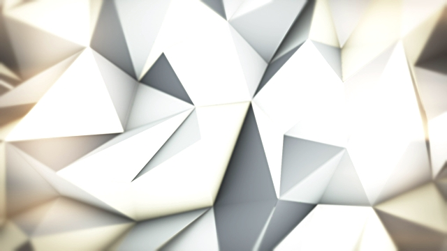 Silver loopable triangles video background