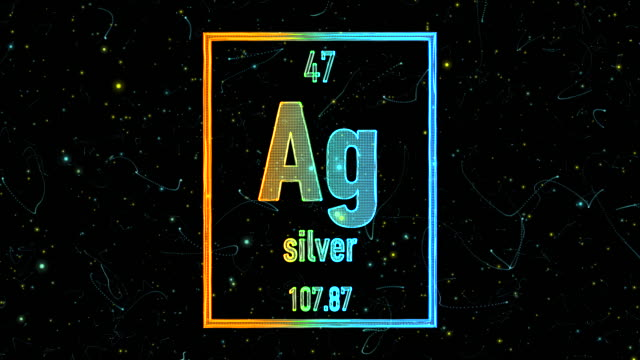 Ag chemical symbol videos and b roll footage getty images silver symbol as in the periodic table urtaz Gallery