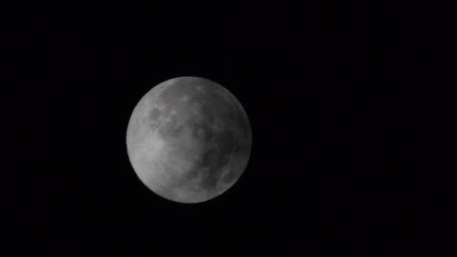 Silvery Full Moon