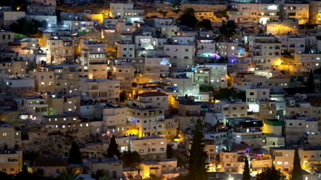 silwan neighbourhood in east jerusalem - palestinian stock videos & royalty-free footage
