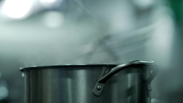simmering water - boiling stock videos & royalty-free footage