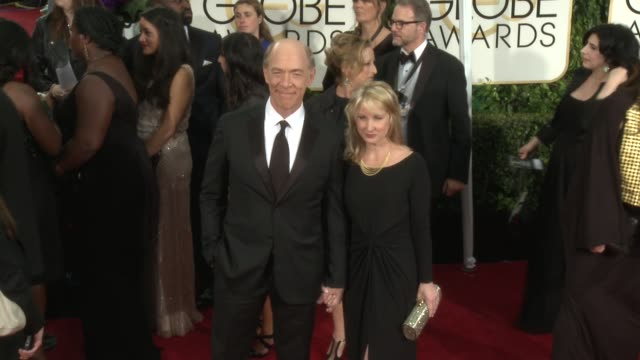 JK Simmons at 72nd Annual Golden Globe Awards Arrivals at The Beverly Hilton Hotel on January 11 2015 in Beverly Hills California