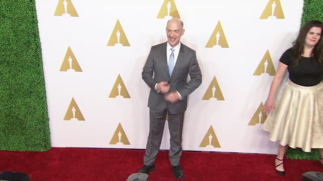 simmons at 87th annual academy awards nominee luncheon - reception at the beverly hilton hotel on february 02, 2015 in beverly hills, california. - the beverly hilton hotel stock videos & royalty-free footage