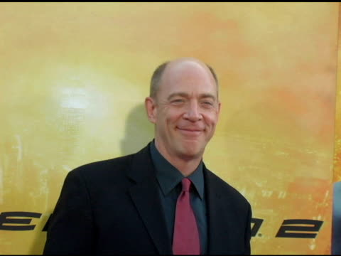simmons at the 'spider-man 2' los angeles premiere arrivals at the mann village theatre in westwood, california on june 22, 2004. - house spider stock videos & royalty-free footage