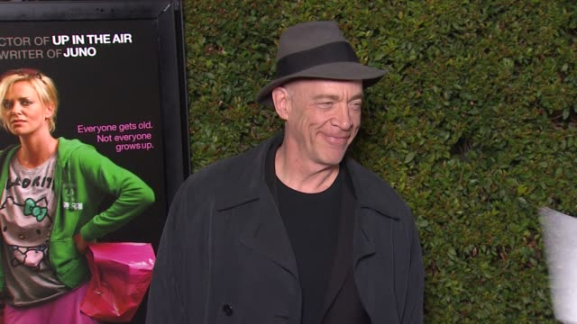 JK Simmons at 'Young Adult' Premiere on in Los Angeles CA
