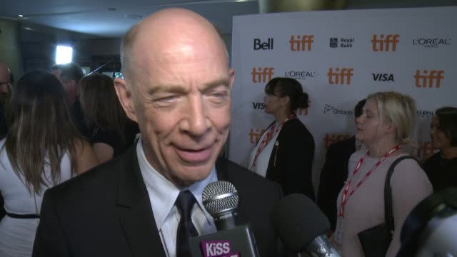 k simmons on why this was a film he wanted to be a part of at princess of wales theatre on september 12 2016 in toronto canada - toronto international film festival stock videos and b-roll footage