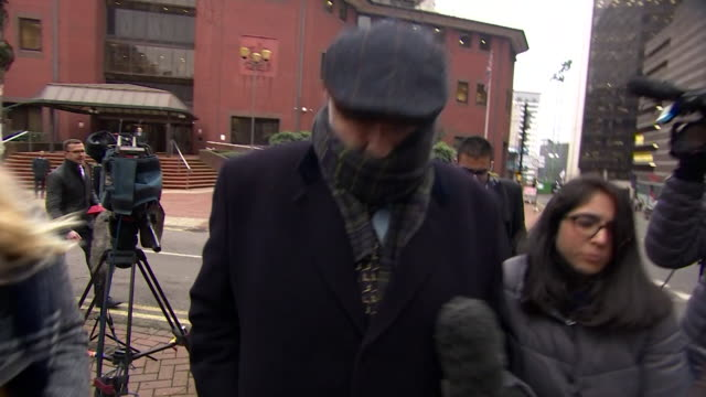 Simon Bramhall leaving court after court verdict