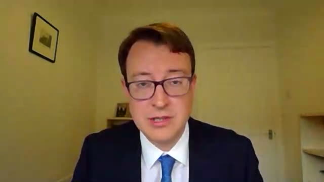mp simon clarke saying the government's coronavirus contact tracing system is undoubtedly still maturing but is confident it will help to ensure... - confidence stock videos & royalty-free footage