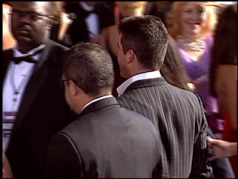 simon cowell at the 2004 emmy awards arrival at the shrine auditorium in los angeles california on september 19 2004 - 2004 stock videos and b-roll footage