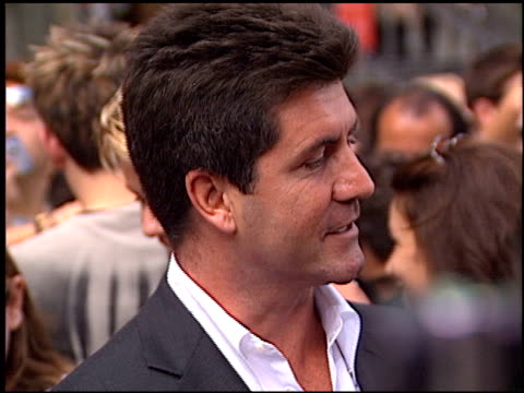 Simon Cowell at the American Idol Finale at the Kodak Theatre in Hollywood California on September 4 2002