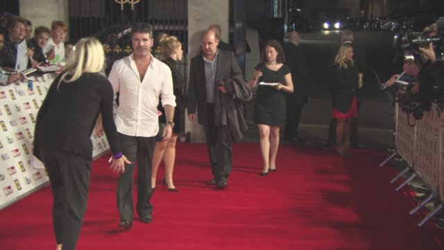 Simon Cowell at The Daily Mirror's Pride of Britain Awards at Grosvenor House on September 28 2015 in London England