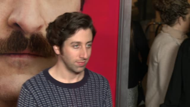 simon helberg at her los angeles premiere in los angeles ca on - simon helberg stock videos and b-roll footage