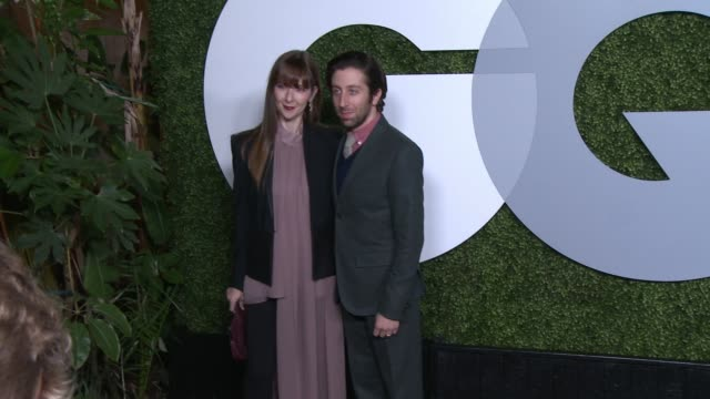 simon helberg gq celebrates the 2014 men of the year at chateau marmont on december 04 2014 in los angeles california - simon helberg stock videos and b-roll footage