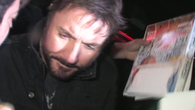 Simon Le Bon leaving Sucker Punch After Party in Hollywood 03/23/11